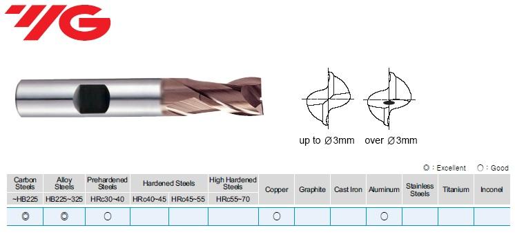 1 x 6 x 2.5 x 47mm, Freza, Z-2, HSSCo8%, TiAlN, DIN 327, GB570010