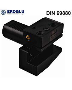 VDI-30, B2, 20mm, radialinis tekinimo laikiklis, kairinis, trumpas, DIN ISO 10889 (DIN 69880)