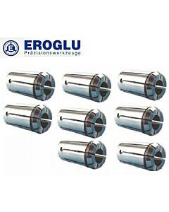 Spyruokliniai laikikliai OZ-25B EOC, 462 E, 2 - 25mm, poliruotas, tikslumas 0.06mikronai, DIN6388B, EROGLU
