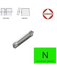 3mm GD24NT Atpjovimo plokštelė poliruota, universali, aliuminiui ir plastikui. GD24NT-30.02-00-LM H216T, CARBIDEN