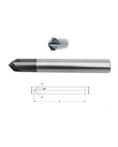 6mm x 6 x 50, 4F 90°, Briaunų freza, CCS-90-06