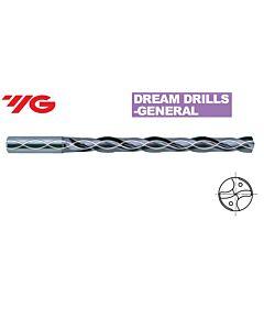 3.7 x 34 x 6 x 72mm, Grąžtas Kietmetalinis GENERAL, su vininiu aušinimu, DIN6537, 8xD, DH421037