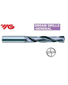 5,80 mm x 28 mm x 6 mm x 66 mm, Grąžtas kietmetalinis GENERAL su TiAlN danga, DH423058