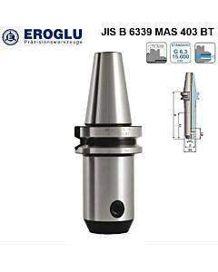 BT40-8-100, Frezų laikiklis, cilindrinis WELDON DIN 6359, DIN 1835-B, EROGLU