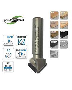 20mm  15 x 12 x 45, Z2 LT60, Freza deimantinė, FPS1809051442