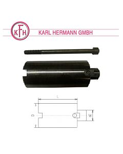 d-40 x L-50, Laikiklis frezavimo staklėms, KARL-HERMAN