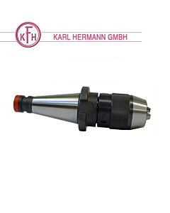 SK40, DIN2080, 1 - 13mm, Gręžimo patronas frezavimo stklėms, KARL HERMAN