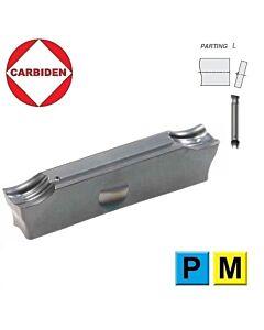 3mm GD24NT Atpjovimo plokštelė universali, plienas, nerūdijantis ir ketus. GD24NT-30.02-00-F1 CTPP345, CARBIDEN