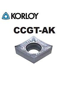 CCGT060204-AK H01, KORLOY, tekinimo plokštelė