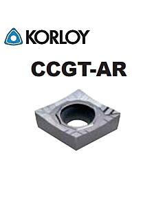 CCGT060202-AR H01, KORLOY, tekinimo plokštelė