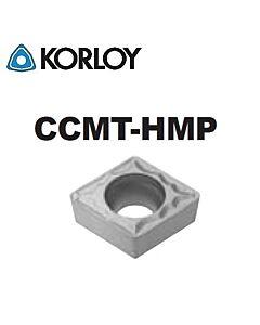 CCMT060204-HMP CN2500, KORLOY, Tekinimo plokštelė KERMET atspari smūgiams ir vibracijoms