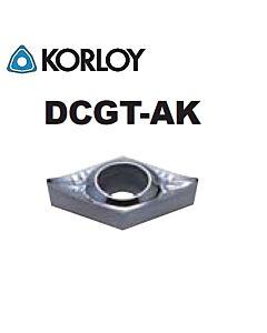 DCGT070208-AK H01, KORLOY, tekinimo plokštelė
