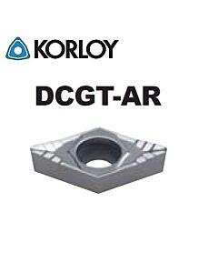 DCGT070202-AR H01, KORLOY, tekinimo plokštelė
