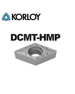 DCMT11T308-HMP CN2500, KORLOY, Tekinimo plokštelė KERMET atspari smūgiams ir vibracijoms