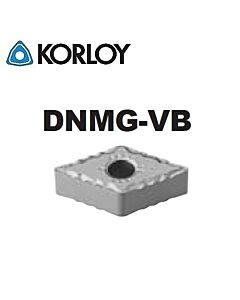 DNMG150404-VB CN2500, KORLOY, Tekinimo plokštelė KERMET atspari smūgiams ir vibracijoms