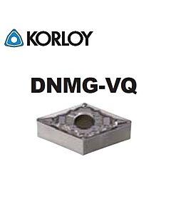 DNMG150404-VQ CN2500, KORLOY, Tekinimo plokštelė KERMET atspari smūgiams ir vibracijoms