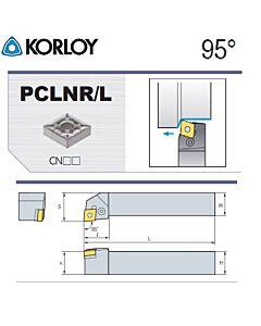 Tekinimo laikiklis, PCLNL2525-M09N, KORLOY