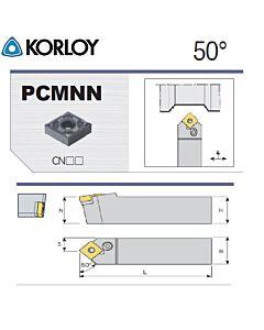 Tekinimo laikiklis, PCMNN2525-M12, KORLOY