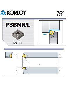 Tekinimo laikiklis, PSBNR4040-S25-6, KORLOY