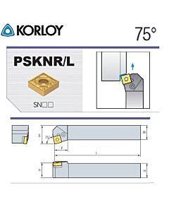 Tekinimo laikiklis, PSKNL2525-M12N, KORLOY