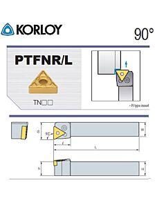 Tekinimo laikiklis, PTFNL2525-M22N, KORLOY