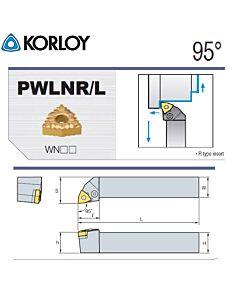 Tekinimo laikiklis, PWLNL2525-M06, KORLOY