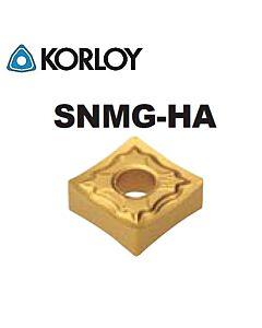 SNMG120404-HA H01, KORLOY, tekinimo plokštelė