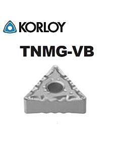 TNMG160408-VB CN2500, KORLOY, Tekinimo plokštelė KERMET atspari smūgiams ir vibracijoms