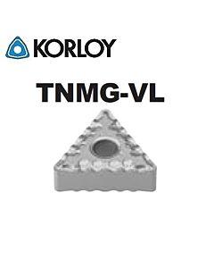 TNMG160408-VL CN1500, KORLOY, Tekinimo plokštelė KERMET