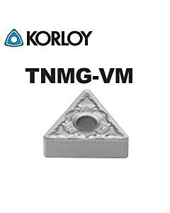 TNMG160408-VM CN2500, KORLOY, Tekinimo plokštelė KERMET atspari smūgiams ir vibracijoms