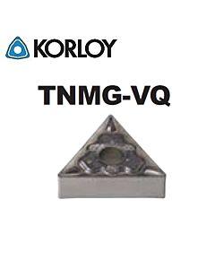 TNMG160408-VQ CN2500, KORLOY, Tekinimo plokštelė KERMET atspari smūgiams ir vibracijoms