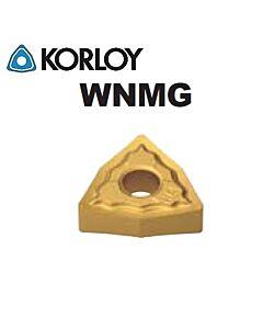WNMG060408-HM NC3225, KORLOY, Tekinimo plokštelė kietmetalinė su CVD danga, plienui, atspari smūgiams