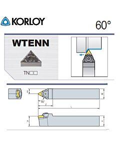 Tekinimo laikiklis, WTENN2525-M22, KORLOY