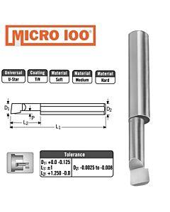 4mm x 15 x 4 x 50 ištekinimo įrankis, Micro100