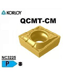 QCMT060204-CM NC3225, FREZAVIMO PLOKŠTELĖ, KORLOY