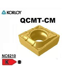QCMT060204-CM NC6210, FREZAVIMO PLOKŠTELĖ, KORLOY