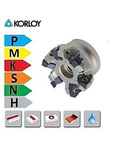RM6PC, Freza su keičiamomis plokštelėmis, WNGX-08, KORLOY