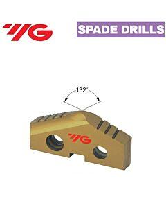 10,00mm, Grąžto Plokštelė HSS, T15, su danga tin, YG, S1155100