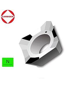SEHT1204AFFN-X83 KH01, Frezavimo plokštelė, kietmetalinė, poliruota, aliuminiui ir plastikui frezuoti, CARBIDEN ISO