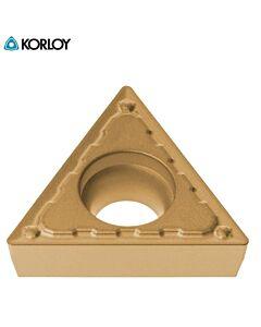 TCMT090208-MP NC9135, KORLOY, Kietlydinio tekinimo plokštelė nerūdijančiam plienui