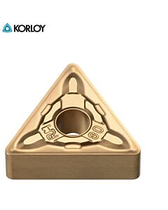 TNMG160408-RM NC9135, KORLOY, Kietlydinio tekinimo plokštelė nerūdijančiam plienui