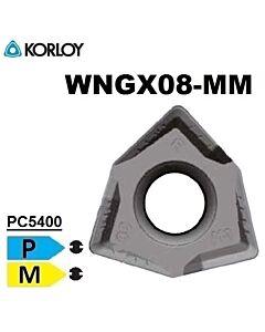 WNGX080608PNSR-MM PC5400, TEKINIMO PLOKŠTELĖ, KORLOY