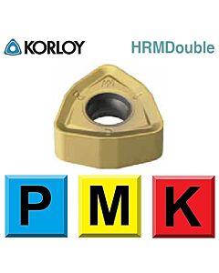 Frezavimo plokštelė, KORLOY, HRDMDouble, WNMX09T316ZNN-MM NCM325