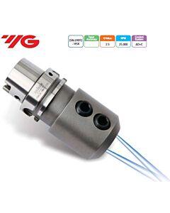 HSK63A-EMH25C-110, WELDON Tipo laikiklis su papildomu aušinimu, DIN 69893 HSK (ISO 12164-1 HSK), YG