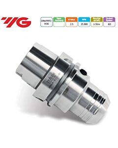 Hidraulinis laikiklis, DIN 69893 HSK (ISO 12164-1 HSK), HSK63A-HC20-90, YG