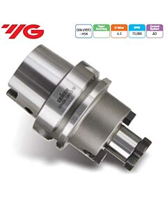 Laikiklis frezai su kiauryme, DIN 69893 HSK (ISO 12164-1 HSK), HSK63A-SMA27-60, YG